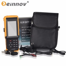 EINNOV five in one CCTV tester monitor IP HD AHD CVI TVI analog camera testing 1080P wifi onvif PTZ control 12V output