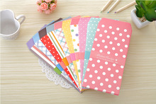10pcs mixed Cute Paper Colorful Star Dot  Envelope Gift Card Baby office supply for Wedding Letter Invitations Korean Stationery