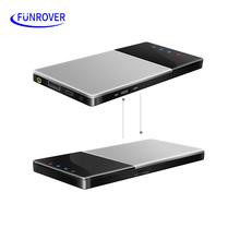 FUNRVOER Car HD Wifi Freeview TV Box DVB-T T2 Mobile Digital TV Turner Receiver Car Home Outdoor Portable iOS Android hot(China)