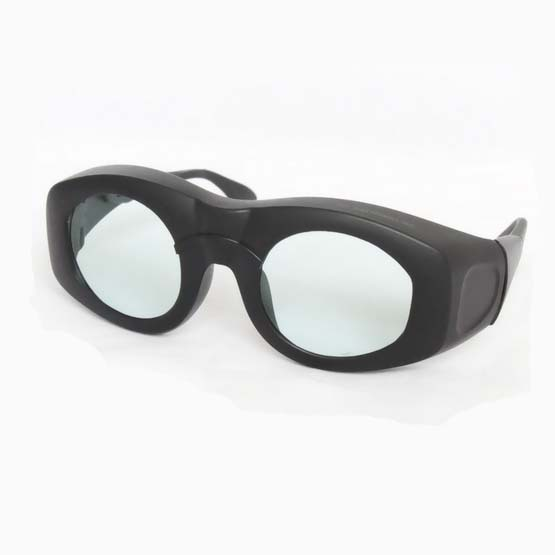 2100nm laser safety glasses O.D 5+ CE certified with big frame fit over prescription glasses<br>