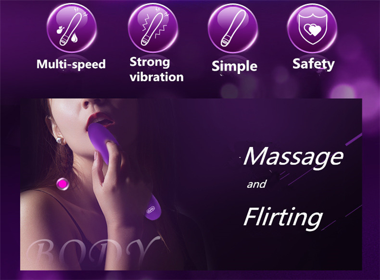 Durex High Quality Erotic Sex Toys For Women G-spot Vibes Multi Speeds Vibrating Body Massager Bullet Vibrators Sex Products 3