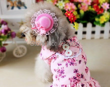 Pet Hairpin Hair Accessory small lovely lace Hat  Fashion Cute Bow for Cats Chihuahua Yorkshire Poodle Pitbull Wholesale