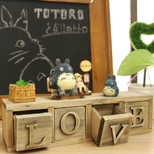 New Arrival Miyazaki Hayao Totoro Cartoon Storage Box Children's Room Creative Valentine's Day New Year Birthday Gift