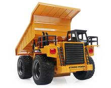 1:12 scale 6CH Remote Control Rc Dump truck construction truck radio control Tipper Dump-car Toy ,rc tip lorry(China)