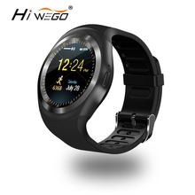 HIWEGO O1 Smart Watch Round Support Nano SIM &TF Card With Bluetooth 3.0 Men Women Business Smartwatch For IOS Android(China)