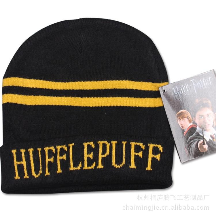 Winter hat Harry Potter Warm Sport Beanies Knit Hats Women Knitted Ski Skullies Men Wool Caps kids WOMEN MEN christmas giftÎäåæäà è àêñåññóàðû<br><br><br>Aliexpress