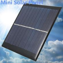 6V Solar Power Panel DIY For Light Battery Cell Phone Toys Chargers Portable