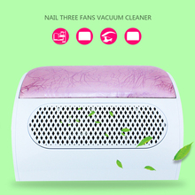 Nail vacuum cleaner tools Nail suction Dust Collector Machine Vacuum Cleaner with 3 fans 220v/50hz 110v/60hz Nail Art Equipment