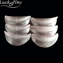 Hot 5pairs Silicone Durable Eyelash Perming Permanent Perm Curler Curling Root Lifting False Fake Eyelashes Shield Pad Patches