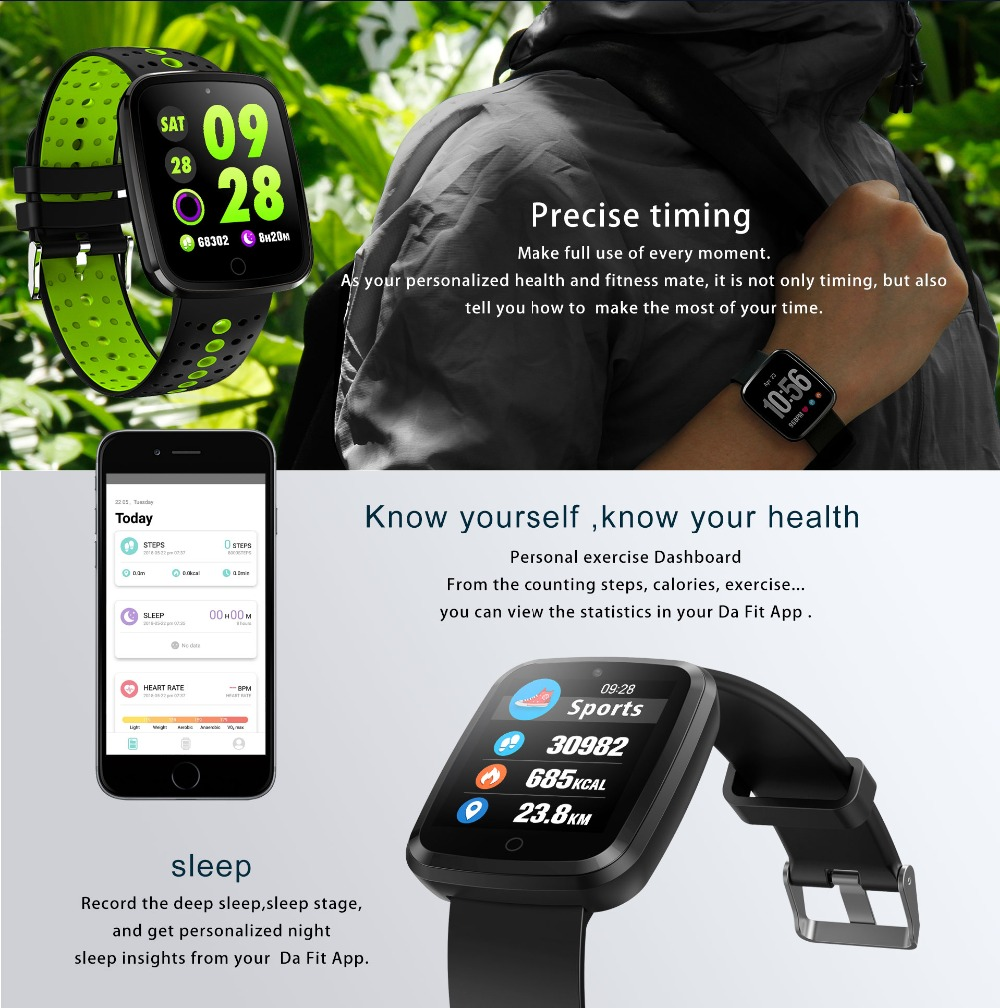 NAIKU Smart Bracelet V6 Pro Color Screen Waterproof Wristband Heart Rate Monitor Blood Pressure Measure Fitness Tracker Band 4