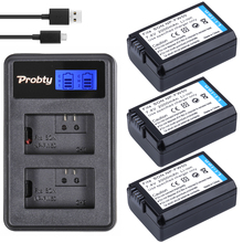 PROBTY 3Pcs 2000mAh NP-FW50 NPFW50 NP FW50 Battery + LCD USB Charger for Sony NEX-5 NEX-7 SLT-A55 A33 A55 A37 A3000 A5000 A6000(China)