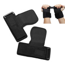 1 Pair 2017 New Skid Gym Training Weight Lifting Straps Wraps Hand Bar Wrist Support Protection Supply(China)
