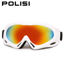 POLISI Winter Boys Girls Ski Goggles Kids Children Anti-Fog Snowboard Glasses UV400 Esqui Skate Mountain Skiing Snow Eyewear(China)