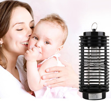 2017 New EU US Plug Bug Zapper Insect Killer Lamp Electric Pest Fly Mosquito Killer 110V/220V Garden Mosquito Killer Lights(China)