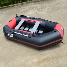 2.6m fishing boat rubber boat inflatable pvc boat for 4~5person With factory price(China)