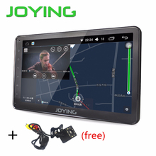 Latest 2017 Android 6.0 car stereo Single 1din Auto radio HD 1024*600 GPS radio 10.1''  free back up rear view reverse camera