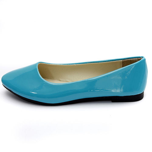 NEW Womens Ladies Flat Ballerina Ballet Casual Loafers Slip on Shoes, Blue 39<br><br>Aliexpress