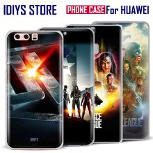 For Huawei Ascend P8 P9 Lite P10 Plus Honor 6x 7i V8 V9 Mate 7 8 9 Nova Justice League JL Unite 2017 Movie Phone Case Cover Bag