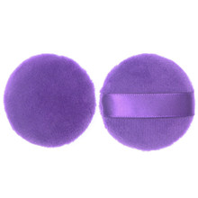 OutTop purple color 1PC Round-shape Pro Beauty Flawless Super Soft Sponge Makeup Foundation Puff best seller#30