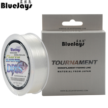 BlueJays Brand Stealth Fishing Line Super Strong 200M tournament Nylon Fishing Line Monofilament Line Japan Material Fishline(China)