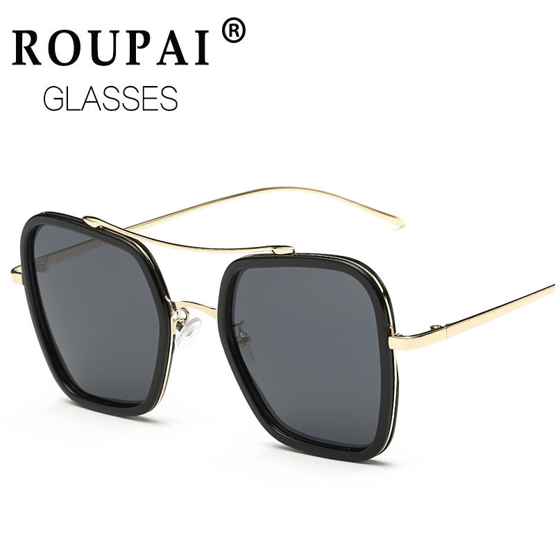 ROUPAI Vintage elasticity Polarized sunglasses Women female brand Mirror Lenses Sun Glasses women retro oculos de sol feminino<br><br>Aliexpress