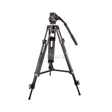 Weifeng WF-717 EI717 1.8m Professional Heavy Duty Video Camcorder Tripod with Fluid Head free shipping by DHL(China)