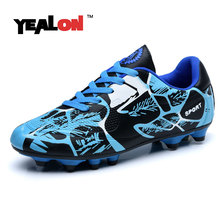 YEALON Soccer Shoes Football Kids Men Soccer Cleats Tenis Feminino Esportivo Cleats Superfly Sneakers For Boys Football Shoes