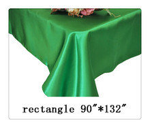 "Free shipping rectangle tablecloth size 90""*132"" color helly green for wedding decoration /natural fabric linen"