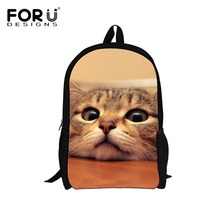 New Stylish Children Animal School Bags Cute Pet Cat Schoolbag for Teenage Girls Backpack Kids Child Mochila Students Book Bags