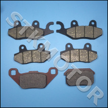 KAZUMA 500CC ATV Brake pads For KAZUMA Jaguar 500CC ATV Quad Front Left Front Right and Rear Brake Pads(China)
