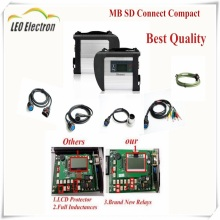 2017.09 MB Star C4 sd connect With mb star c4 WIFI for Cars&Trucks Auto Diagnostic-tool 12V/24V Full Chip PCB star diagnosis c4(China)