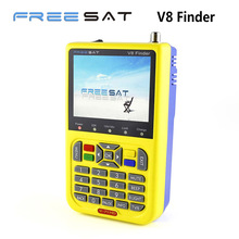Genuine HD DVB-S2 Freesat V8 Satellite Finder High Definition Satellite Finder MPEG-4 V8 Satellite Meter Finder