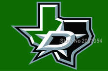 NHL Dallas Stars Flag 3x5 FT 150X90CM Banner 100D Polyester flag 1901, free shipping