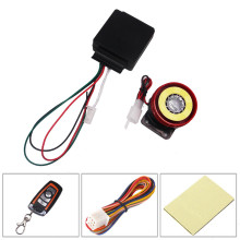 One way Universal Motorcycle Alarm System Remote Control Engine Start Lock Anti-theft Security Auto Security(China)
