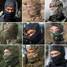 Multicam Balaclava Realtree Camouflage Tactical Paintball Wargame Military Army Motorcycle Helmet Protection Full Face Mask