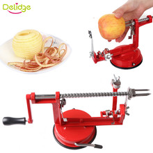 Delidge 1pc 3 in 1 Multifunction Apple Peeler Slicing Matal Aluminum Alloy Carrot Potato Skinning Tool Creative Home Kitchen(China)