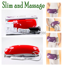 Electric Massage Belt  Vibrating Slimming Belt body building Adopt programs for Tummy, Butt, Thigh and Lumbar for weight loss