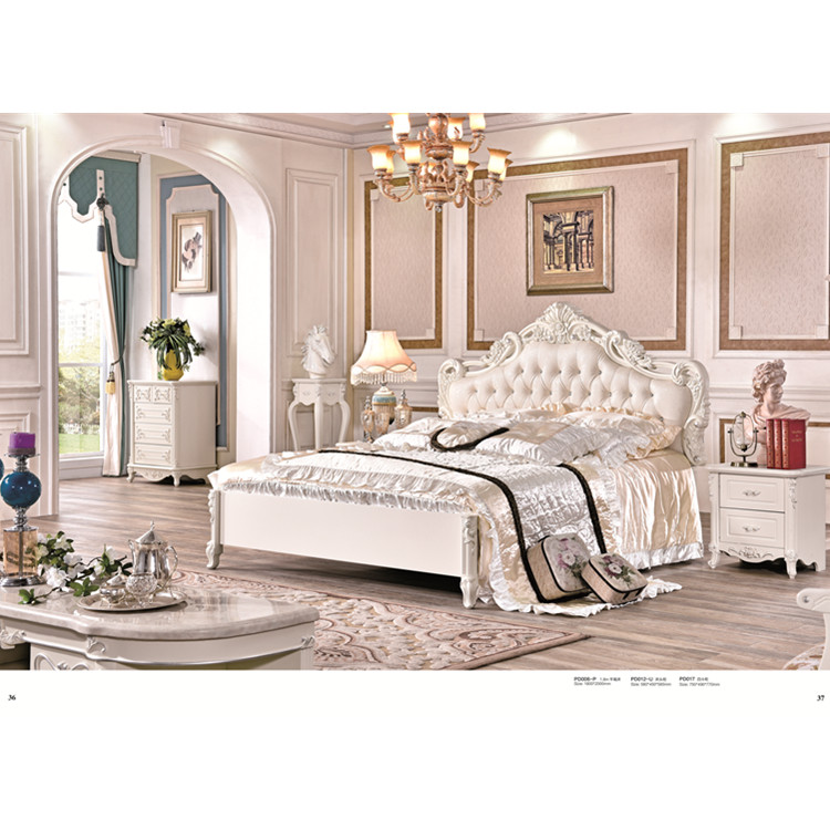European style high quality royal wooden bed designs Bedroom Sets  - AliExpress