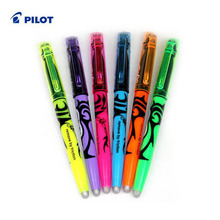 Pilot Frixion Erasable Marker 6 Color Set Chisel Point Rewrite Highlighters Free Shipping