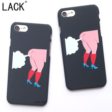 LACK Funny Phone Case For Apple iphone 6 6SPlus Fashion Special Design High-heeled Shoes red socks Hard Phone Shell