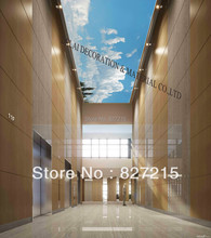 S-5869 /Print Ceiling tiles /PVC Stretched Ceiling Film/Home or Ceiling Decoration/Function as Ceiling Panel