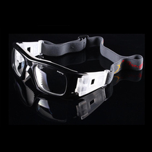 PC lens Men Basketball Football Sports Goggles Myopia Frame Safety Eyewear Eye Prescription Protective Glasses 009(China)