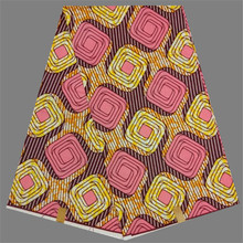 Pretty African Wax Fabric African Textile Real Wax Fabric Designs For Party Dress RWF28(6yards/pc)