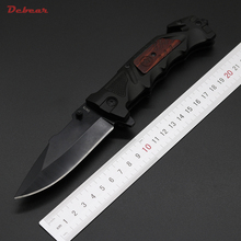 Dcbear High Quality New DA75 Tactical Knife 440C Steel Blade Best Folding Knives Outdoor Tops Knife EDC Pocket Tool