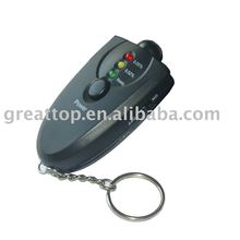 10pc/set Keychain led alcohol tester (GT-ALT-01)