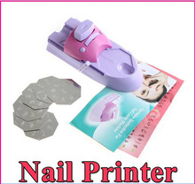 Pink and purple stamping machine DTY nail printer nail stamp art printer use for finger beauty+A original box package(China)