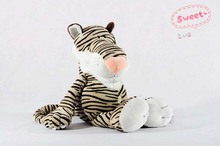 10 pieces small cute Plush tiger  toys Stuffed jungle tiger gift dolls about 25cm