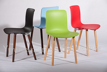 Jasper Morrison Wood Chair modern shell plastic and wood classic design dining Chair