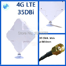 4G antenna 2*SMA  connector for HUAWEI ZTE 4G Router/Modem antenna 35DB  free shipping