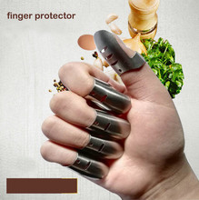 Free ship high quality stainless steel 304 vegetable cutter protector finger protector 0.7mm kitchen tools metal finger